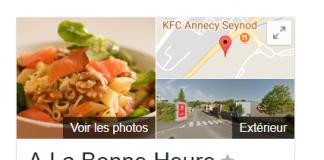 Avis - Restaurant A La Bonne Heure de Seynod